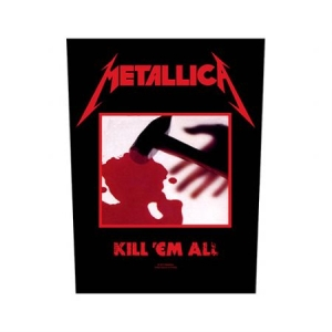 Metallica - Kill 'em all - Back Patch in the group OTHER / Merch Patch at Bengans Skivbutik AB (3655640)