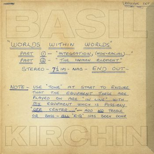 Basil Kirchin - Worlds within worlds in the group Campaigns / Record Store Day / RSD2019-SALE at Bengans Skivbutik AB (3660031)