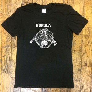 Hurula - T-shirt Fågel svart in the group Labels / Drella at Bengans Skivbutik AB (3697334)