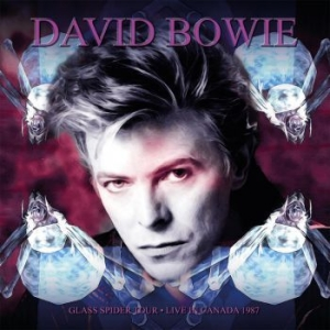 David Bowie - Glass Spider Tour (Purple) in the group VINYL / Pop at Bengans Skivbutik AB (3703536)