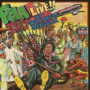 Kuti fela - Johnny Just Drop (J.J.D.) in the group VINYL / Worldmusic/ Folkmusik at Bengans Skivbutik AB (3717734)
