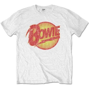 David Bowie - David Bowie Unisex Tee: Vintage Diamond Dogs Logo in the group OTHER / Merchandise at Bengans Skivbutik AB (3750599)