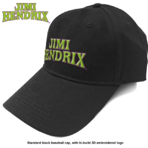 Jimi Hendrix - Jimi Hendrix Unisex Baseball Cap: Arched Logo in the group OTHER / Merchandise at Bengans Skivbutik AB (3755175)