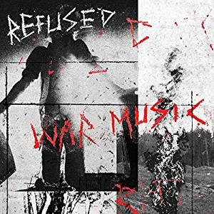 Refused - War Music (Ltd Clear w / Black Splatter Vinyl) in the group BF2019 at Bengans Skivbutik AB (3761763)