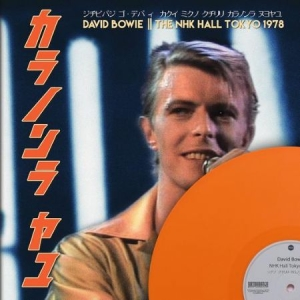 David Bowie - THE NHK HALL TOKYO 1978, Limited Edition Coloured Vinyl in the group Julspecial19 at Bengans Skivbutik AB (3763131)