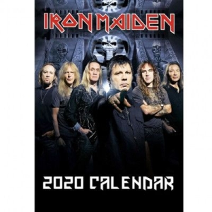 Iron Maiden - 2020 unofficial calender in the group OTHER / Merch Calenders at Bengans Skivbutik AB (3776481)