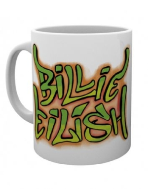 Billie Eilish - Graffiti Mug in the group OTHER / Merch Mugs at Bengans Skivbutik AB (3778733)
