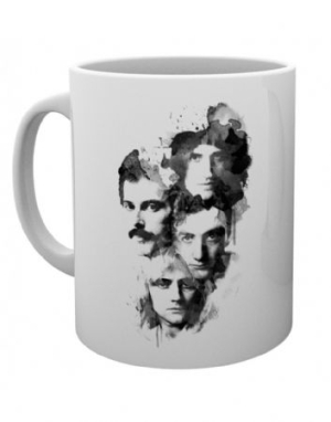 Queen - Faces Mug in the group OTHER / Merch Mugs at Bengans Skivbutik AB (3778747)