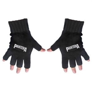 Pantera - Fingerless Gloves: Logo in the group Campaigns / BlackFriday2020 at Bengans Skivbutik AB (3779739)