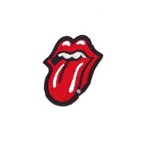Rolling Stones - Medium Patch: Classic Tongue in the group Julspecial19 at Bengans Skivbutik AB (3790696)