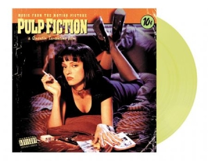 Soundtrack - Pulp Fiction Soundtrack - Translucent yellow in the group Julspecial19 at Bengans Skivbutik AB (3795187)