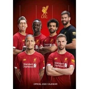 Liverpool - Official 2020 Calendar in the group OTHER / Merch Calenders at Bengans Skivbutik AB (3805082)