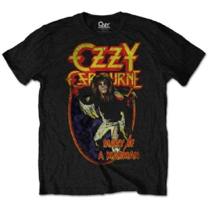 Ozzy Osbourne Diary of A Madman T-shirt  in the group Minishops / Ozzy Osbourne at Bengans Skivbutik AB (3823244)