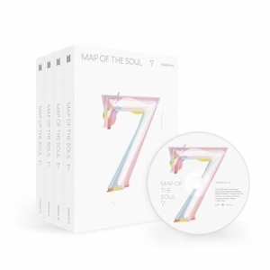 BTS - MAP OF THE SOUL : 7 + Weply Gift - version 3 in the group CD / Upcoming releases / Pop at Bengans Skivbutik AB (3841960)