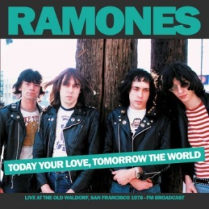 Ramones - Today Your Love Tomorrow The World in the group VINYL / Rock at Bengans Skivbutik AB (3843453)