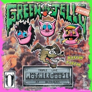 Green Jelly - Triple Live Mother Goose At Budokan (Clear With Glow-In-The-Dark Splatter Vinyl) in the group VINYL at Bengans Skivbutik AB (3846345)