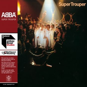 Abba - Super Trouper (2Lp, Half Speed) in the group Campaigns / BlackFriday2020 at Bengans Skivbutik AB (3960826)