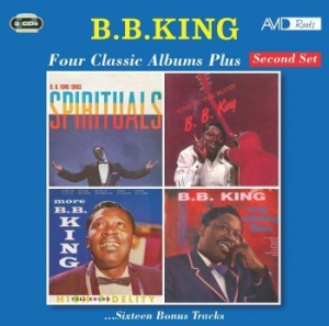 B.B. King - Four Classic Albums Plus in the group CD / Upcoming releases / Jazz/Blues at Bengans Skivbutik AB (3980777)