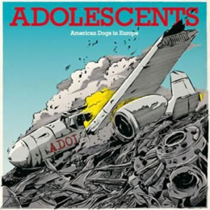 Adolescents - American Dogs In Europe Ep in the group VINYL / Rock at Bengans Skivbutik AB (484367)