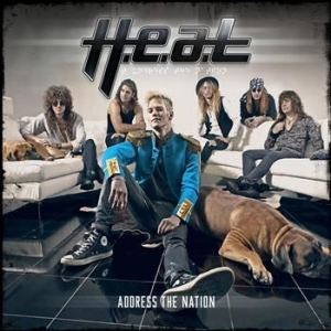 H.E.A.T - Address The Nation in the group Labels / Gain at Bengans Skivbutik AB (500923)