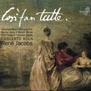 Mozart, Wolfgang Amadeus - Cosi Fan Tutte in the group CD / Klassiskt at Bengans Skivbutik AB (511153)