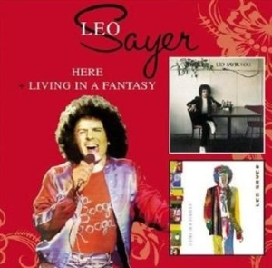 Leo Sayer - Here/Living In A Fantasy in the group CD / Pop at Bengans Skivbutik AB (517776)
