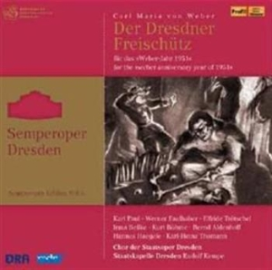 Weber - Der Freischutz in the group CD / Övrigt at Bengans Skivbutik AB (519015)