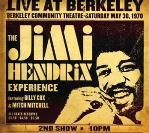 Hendrix Jimi The Experience - Live At Berkeley in the group Minishops / Jimi Hendrix at Bengans Skivbutik AB (519986)
