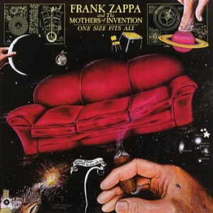 Frank Zappa - One Size Fits All in the group CD / Pop at Bengans Skivbutik AB (525282)
