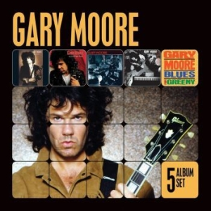 Gary Moore - 5 Album Set in the group CD / Rock at Bengans Skivbutik AB (528612)