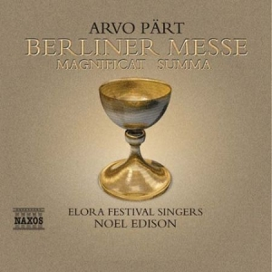 Pärt Arvo - Berliner Messe in the group CD / Övrigt at Bengans Skivbutik AB (576106)