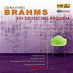 Brahms - Ein Deutsches Requiem in the group CD / Klassiskt at Bengans Skivbutik AB (588332)