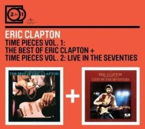 Eric Clapton - 2For1 Time Pieces Vol 1 & 2 in the group CD / Pop at Bengans Skivbutik AB (590926)