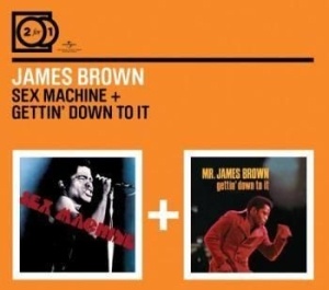 Brown James - 2For1 Sex Machine7Getting Down... in the group CD / Pop at Bengans Skivbutik AB (590939)