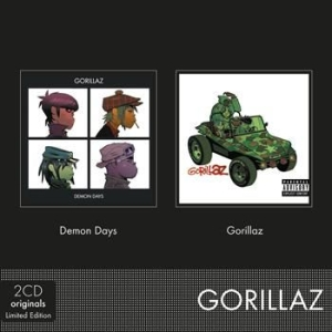 Gorillaz - Demon Days / Gorillaz in the group Julspecial19 at Bengans Skivbutik AB (619663)