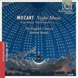 Mozart - Night Music + Catalogue in the group CD / Övrigt at Bengans Skivbutik AB (644288)