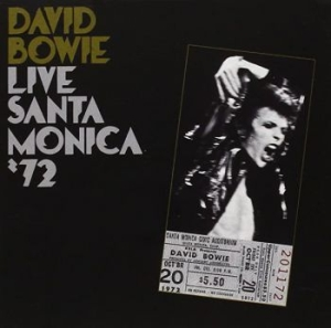 David Bowie - Live In Santa Monica '72 in the group Minishops / David Bowie at Bengans Skivbutik AB (683957)