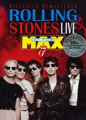 Rolling Stones - Live At The Max in the group Minishops / Rolling Stones at Bengans Skivbutik AB (883845)