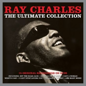 Ray Charles - The Ultimate Collection in the group CD / RNB, Disco & Soul at Bengans Skivbutik AB (902147)