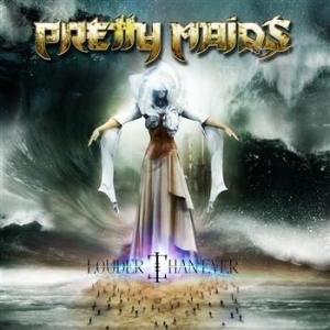 Pretty Maids - Louder Than Ever in the group CD / Hårdrock/ Heavy metal at Bengans Skivbutik AB (961765)