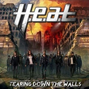 H.E.A.T - Tearing Down The Walls in the group CD / Hårdrock/ Heavy metal at Bengans Skivbutik AB (996052)