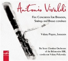 Vivaldi - Five Concerts For Bassoon