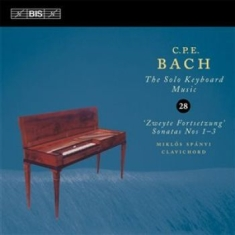 Bach Cpe - Solo Keyboard Music Vol 28