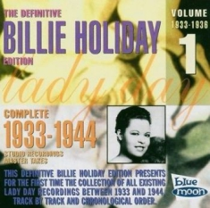 Holiday Billie - Complete Master Takes/Vol.1 1933-36