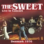 Sweet - Live In Concert Denmark 1976 in the group Julspecial19 at Bengans Skivbutik AB (1117959)