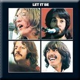 Beatles - Beatles Fridge Magnet - Let it Be Album