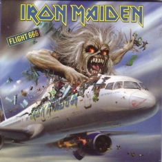 Iron Maiden - Iron Maiden Fridge Magnet: Flight 666