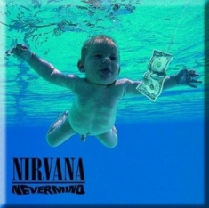 Nirvana - Never Mind - Fridge Magnet