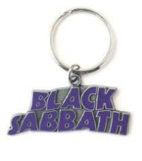 Black Sabbath - Standard Key Chain: Wavy Logo