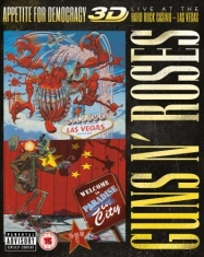 Guns N' Roses - Appetite For Democracy (2Cd+Bluray)
